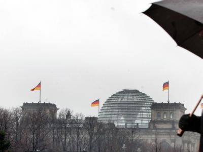 Sicherheitsvorkehrungen am Reichstag