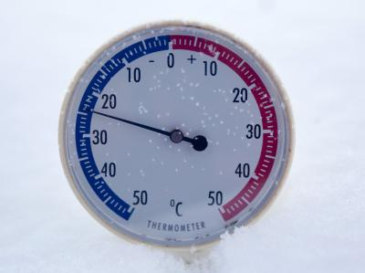 Die sibirische Kälte hält große Teile Europas fest umschlungen. Foto: Patrick Pleul