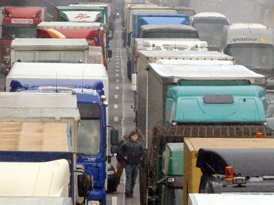 Die Klagen gegen das Lkw-Überholverbot waren in Leipzig nicht erfolgreich.
