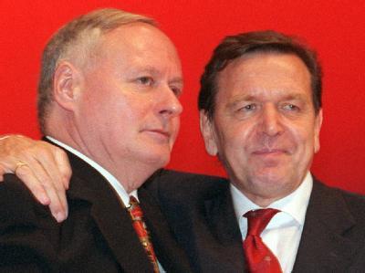 Lafontaine und Schröder