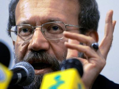 Der iranische Parlamentspräsident Ali Laridschani. Foto: Abedin Taherkenareh