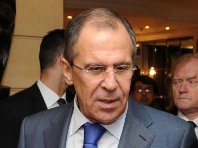 Russlands Au�enminister Sergej Lawrow