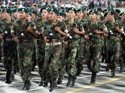 Libysche Soldaten