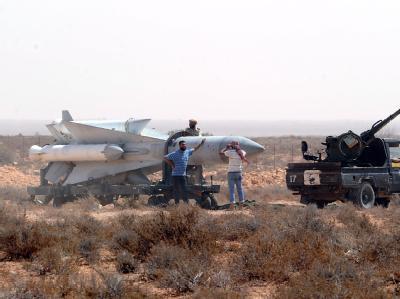 Libysche Scud-Rakete