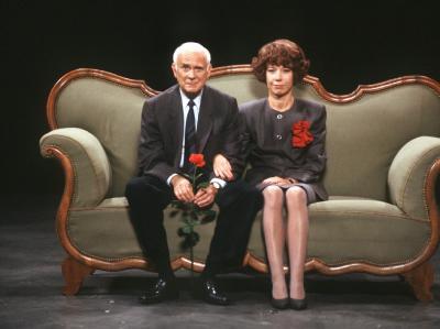 Ein kongeniales Paar: Loriot und Evelyn Hamann.