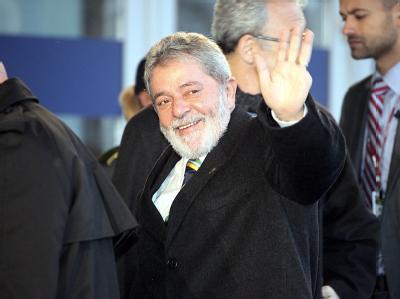 Brasiliens Präsident Lula auf dem Klimagipfel in Kopenhagen.