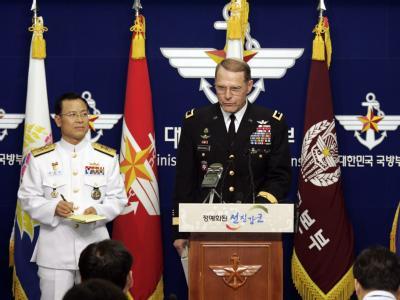 Die USA und Südkorea kündigen gemeinsame Manöver an.