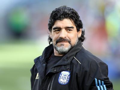 Coach der Argentinischen Nationalelf: Diego Armando Maradona