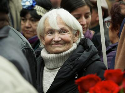Margot Honecker im Juli 2010. Foto: Marcelo Hernandez/Archiv