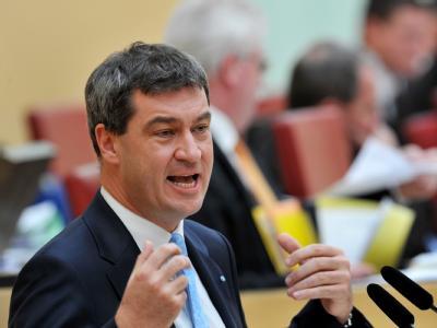 Bayerns Finanzminister Söder