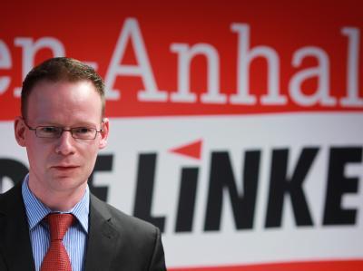 Matthias Höhn gibt Streitigkeiten innerhalb der Linken Schuld an der Wahlpleite.