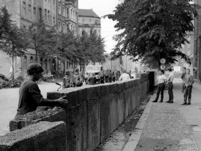 Der Bau der Mauer begann im August 1961.