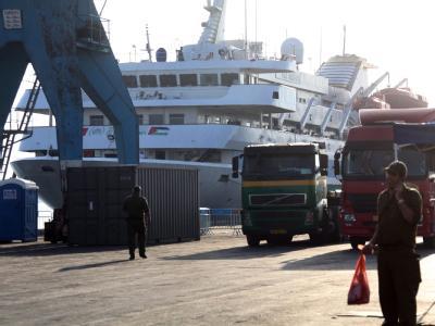 Bei der Stürmung des türkischen Solidaritätsschiffs «Mavi Marmara» hatten israelische Soldaten am 31. Mai neun Aktivisten getötet. Die Solidaritätsflotte wurde anschließend in den Hafen von Aschdod gebracht.