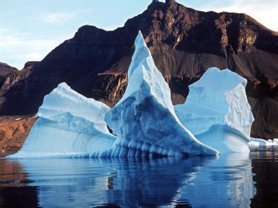 Eisberg im Atlantischen Ozean