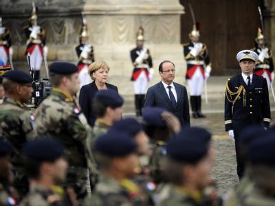 Merkel und Holland