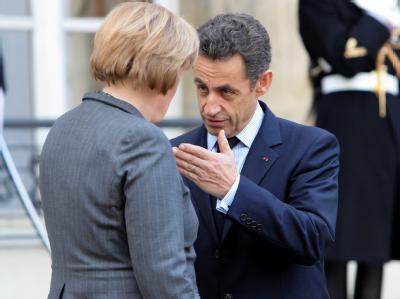 Merkel versucht, Zweifel am guten Zustand der deutsch-französischen Beziehungen zu zerstreuen. (Archivbild)