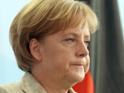 Schwere Zeiten für Bundeskanzlerin Merkel.
