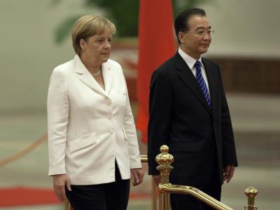 Merkel in China
