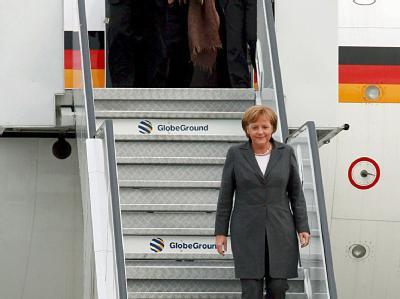 Merkel auf Reisen