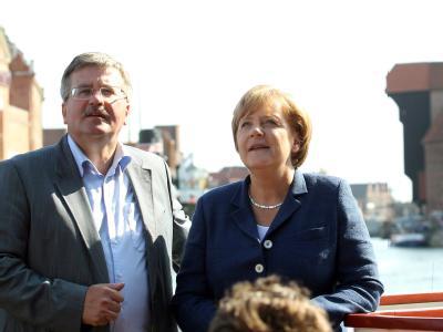 Angela Merkel in Polen
