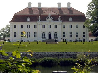 Schloss Meseberg ist das Gästehaus der Bundesregierung.