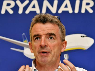 «Das ist typisch für solche Großprojekte»: Ryanair-Chef Micheal O-Leary. Foto: F. Leonhardt/Archiv