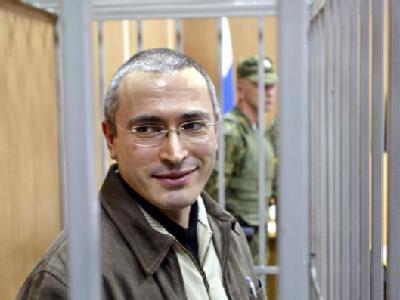 Wird von vielen als Opfer Putins gesehen: Ölmagnat Michail Chodorkowski in Haft.