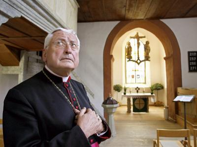 Walter Mixa soll seine Wohnung im Augsburger Bischofspalais wieder bezogen haben.