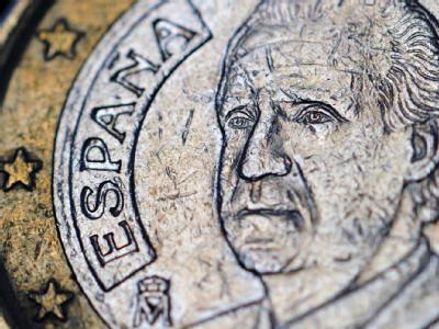 Spanische Ein-Euro-Münze