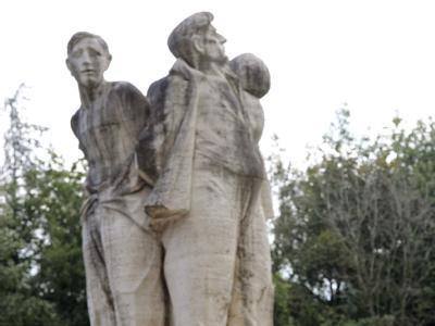 Denkmal f�r Nazi-Opfer in Italien