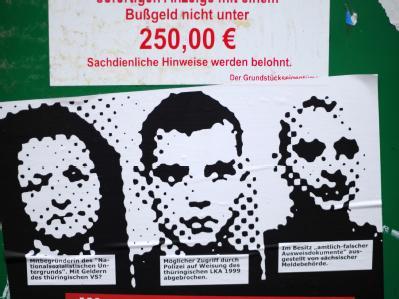 Bereits im Jahr 2002 soll ein Hinweis auf den möglichen Aufenthaltsort des untergetauchten Terror-Trios Zschäpe, Mundlos und Böhnhardt vorgelegen haben. Foto: Uwe Zucchi/Archiv