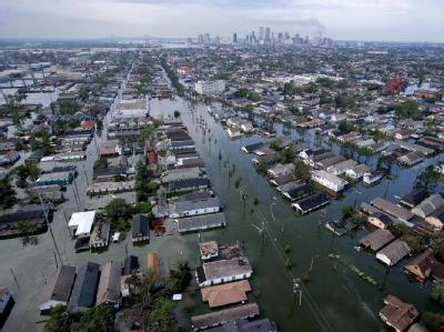 New Orleans nach Katrina im Jahr 2005