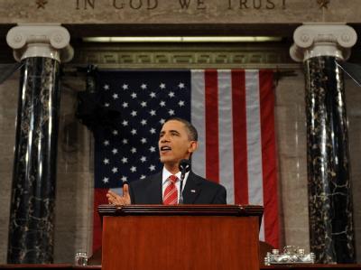 In seinem ersten Bericht zur Lage der Nation nannte US-Präsident Barack Obama die Schaffung von Arbeitsplätzen seine Toppriorität.