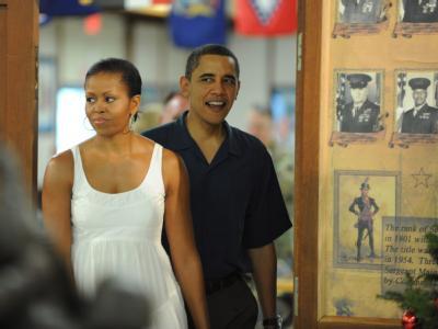 Die Obamas auf Hawaii