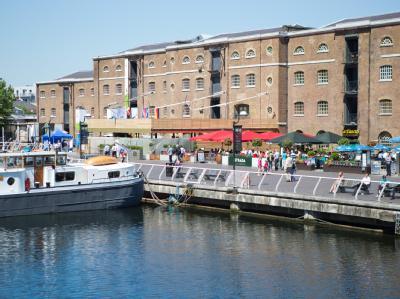 Das Deutsche Haus liegt in den Docklands an der Themse. Foto: Michael Kappeler / Archiv