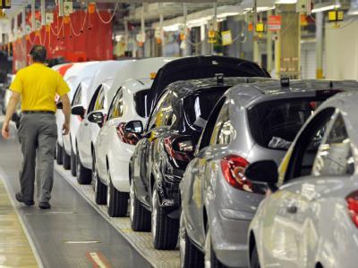 Corsa-Montage im Opel-Werk in Eisenach. (Archiv)