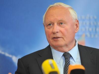 Oskar Lafontaine zieht seine Kandidatur für Linken-Vorsitz  zurück. Foto: Becker&Bredel/Archiv