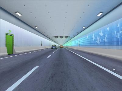 So soll der Tunnel zwischen Deutschland und Dänemark aussehen: Die Dänen wollen den Bau mit derzeit geschätzten Kosten von 5,1 Milliarden Euro allein finanzieren.