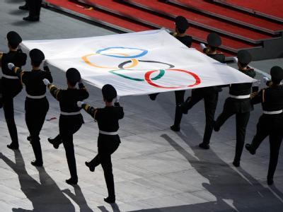 Vor vier Jahren erlebten die Sportler aus aller Welt in Peking gut organisierte Olympische Spiele. Politisch ist der olympische Nachlass jedoch umstritten. Foto: Gero Breloer / Archiv