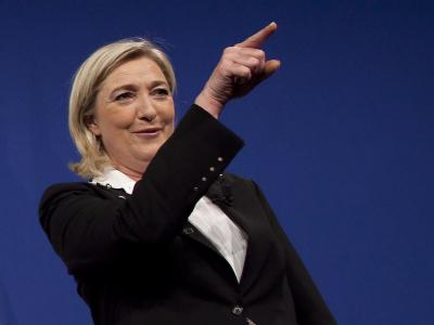 Marine Le Pen erzielte das beste Ergebnis für die rechtsextreme Nationale Front bisher. Foto: Ian Langdon