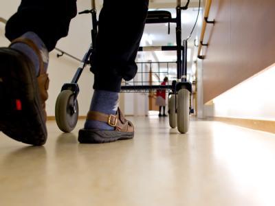 Pflegeheim-Bewohner