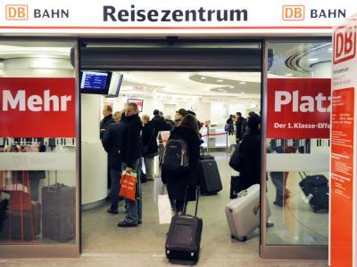 Reisezentrum der Deutschen Bahn