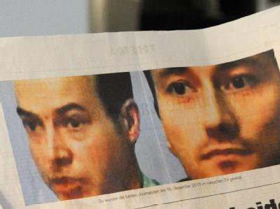 Die beiden Bild-am-Sonntag-Reporter waren am 10. Oktober 2010 in der Provinzhauptstadt Täbris festgenommen worden.