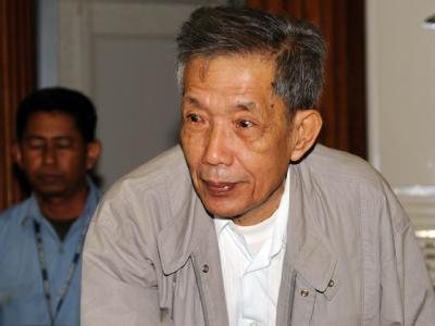 Kaing Guek Eav, auch «Duch» genannt, wurde zu 35 Haft verurteilt.