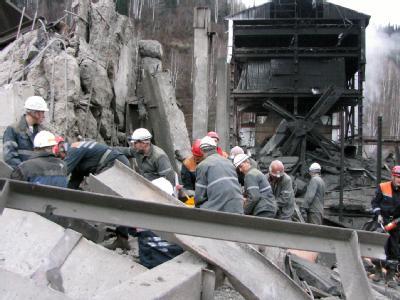 In einer Grube in Westsibirien hat es zwei Methangas-Explosionen gegeben.