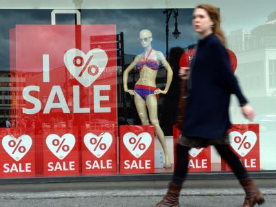 Die deutsche Kauflust bleibt von der Krise nahezu unbeeindruckt. Foto: Britta Pedersen