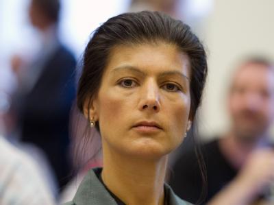 Die Verständigung von Rot-Grün mit der Bundesregierung sei «nichts wert», sagte die Vizefraktionschefin der Linken, Sahra Wagenknecht. Foto: Soeren Stache