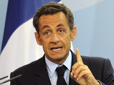 Nicolas Sarkozy: Der französische Staatspräsident scheint Probleme mit seinem Gedächtnis zu haben - jedenfalls, was den 9. November 1989 betrifft.