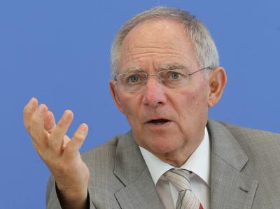 Finanzminister Schäuble hält eine Rettung Griechenlands für unbedingt erforderlich.