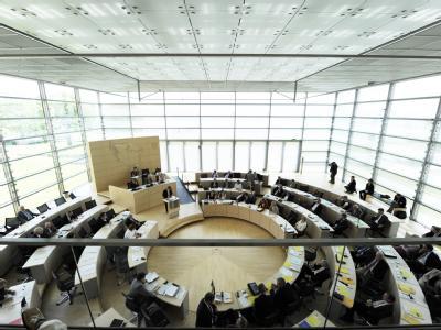 Der Landtag in Kiel.